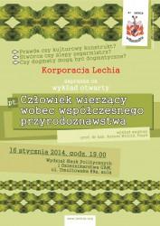 Lechia-plakat-wyklad-czlowiek-wierzacy-przyrodoznawstwo