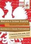 2014.04.15_Matura z Orłem Białym_spotkanie z Janem Pietrzakiem